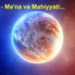 """""""Piramida"""" – Mə'na və Mahiyyəti…"""