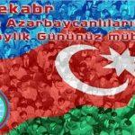 Dünya Azərbaycanlılarına təbrik