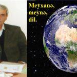 Meyxanə, meynə, dil.