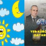 YER KÜRƏMİZ QATARIMIZ-Uşaq şeirləri